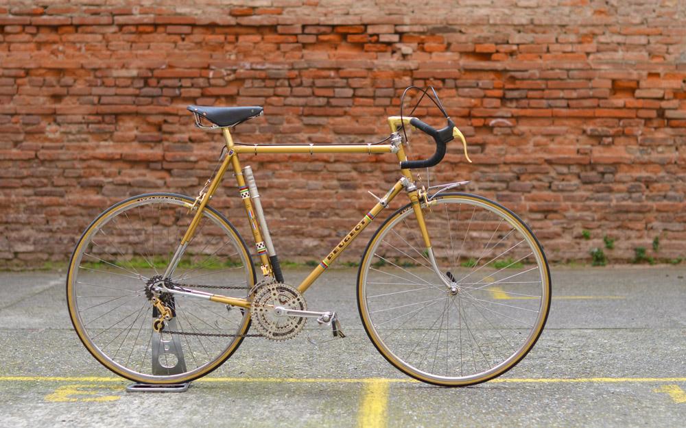 Peugeot PY10 1977 Couleur Or Peugeot-py10