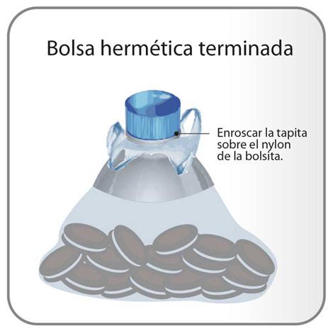 Bolsa hermética casera Hermetica-3