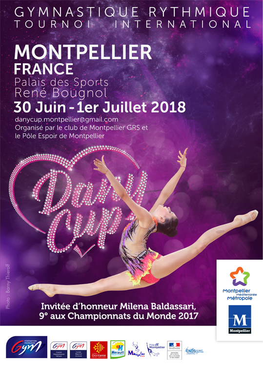 Dany Cup 2018 - Tournoi international + stage gym et coach - Montpellier - Page 2 AfficheDanyCup2018MilenaBaldassari-FRpt