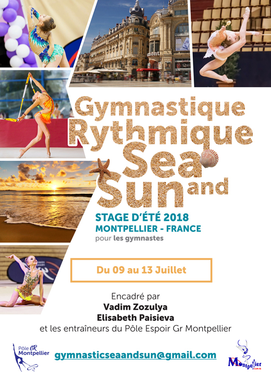Dany Cup 2018 - Tournoi international + stage gym et coach - Montpellier - Page 2 AfficheStage2018v2-FR