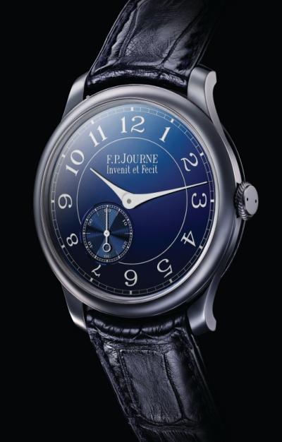 Haute Horlogerie pour toutes les bourses ? Fp-journe-le-chronometre-bleu-1