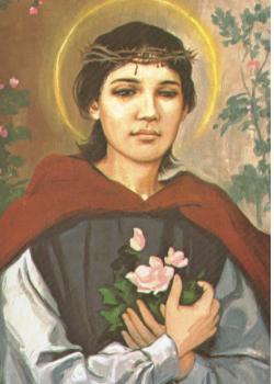 ✟Les Saints - Les Saintes du  Jour✟ St-rose-of-lima