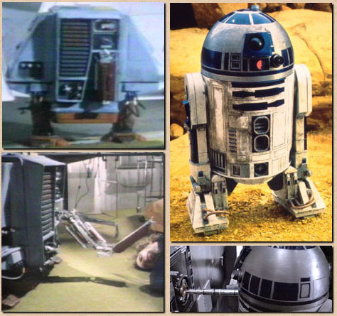 "WEEKEND VIDEO: Return of the Jedi Review - ""At the Movies"" 1983 R2d2"