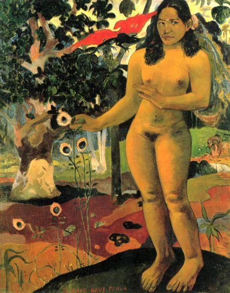 Natasha Oda Peinture-gauguin
