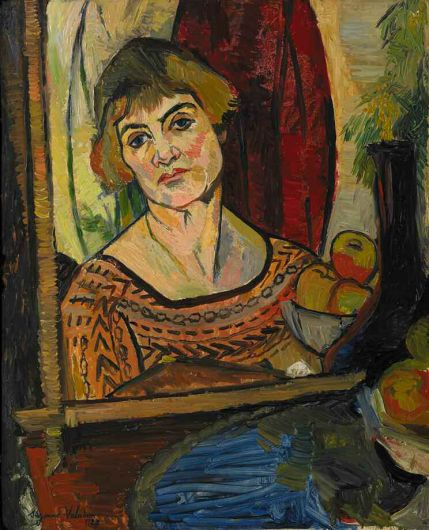 Autoportrait, image de l'intérieur Suzanne-valadon