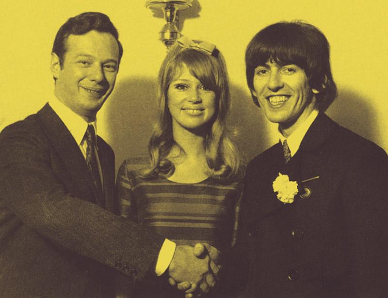 Beatles Galería 1966_01_21_Wedding_George