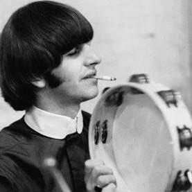 Beatles Galería Tambourine