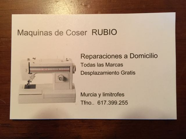 Sewing Machine servicing Sewingmachine_card