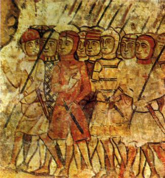 CRÍTICA (constructiva) a la vestimenta del Cuadro de Carbonero Almogavares