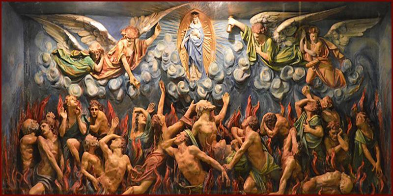 Rien de souillé n'entrera au Ciel ! Tout sur le Purgatoire... Purgatory2