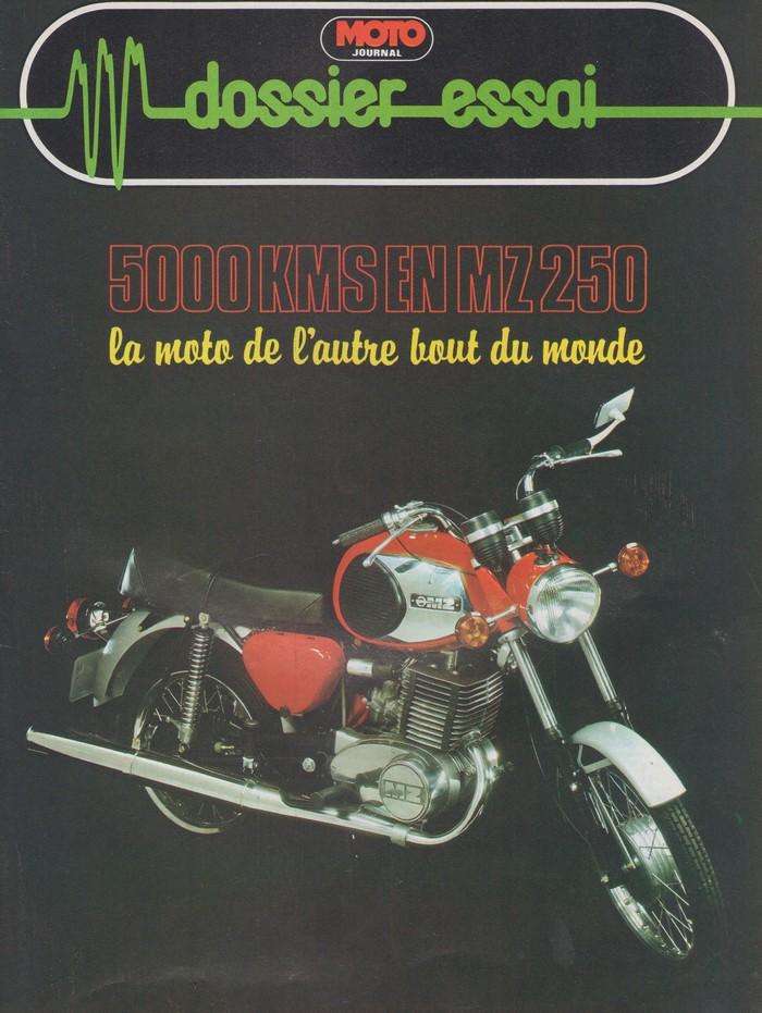 "Lecture : ""5000 KM en MZ 250"" (Moto Journal, juin 1979) Mz1"