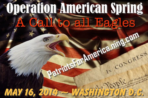 Operation American Spring … PATRIOTS AND MILITIA MARCHING ON WASHINGTON TO IMPEACH OBAMA LIVE NOW Eagles_0