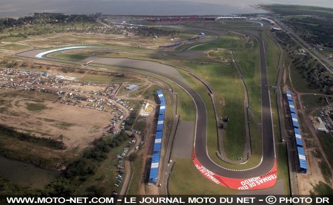 MOTO GP 2018 GRAND PRIX D'ARGENTINE  Horaires-termas