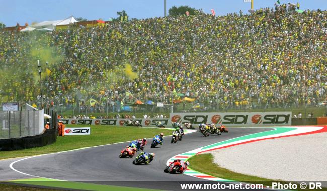 MOTO GP -GRAND PRIX D'ITALIE  MUGELLO DU 31 MAI AU 2 JUIN 2019 Horaires-gp-italie-2019