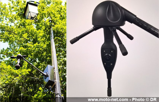 Les radars anti véhicules bruyants arrivent en France Radar-antibruit-meduse