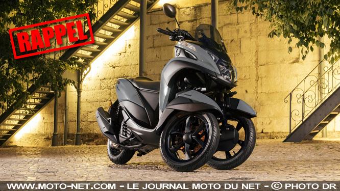 Nouveau rappel pour les scooters 3-roues Yamaha Tricity et MBK Tryptik Rappel-scooter-3-roues_s