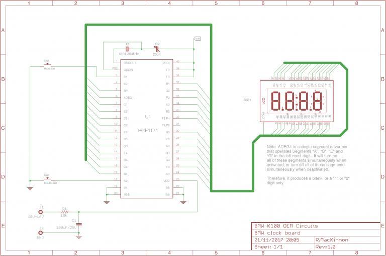 REFERENCE: BMW Instrument Cluster schematics 270-211117200828