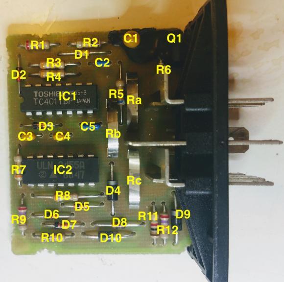 REFERENCE: BMW Instrument Cluster schematics 270-030219185849