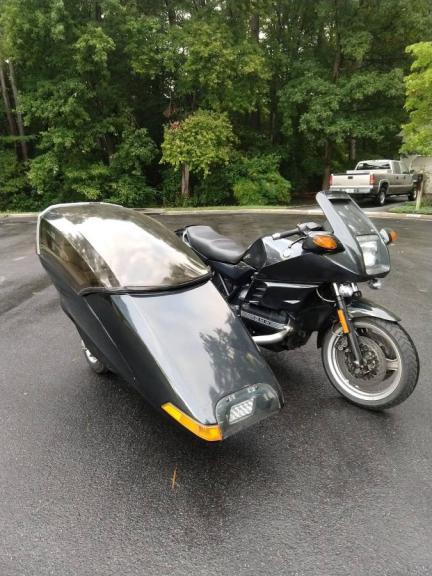 FS: 1991 K100RS 22K & Flexit Sidecar Richmond VA 5332-030520025259-31592203