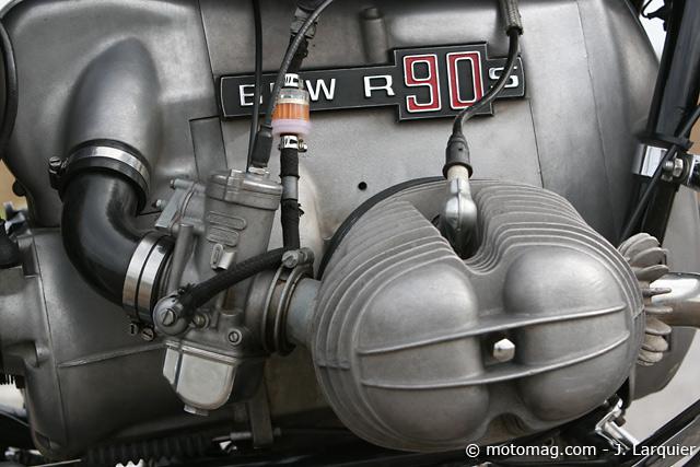 R100 dellorto et boite à air. 0-bmw-r-90-s-moteur