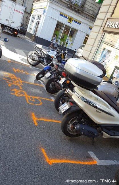 Nantes : la FFMC organise une Nuit 2-roues spéciale stationnement Ffmc_44_stationnement_2