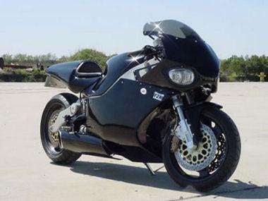 Une turbine dans une moto Y2K