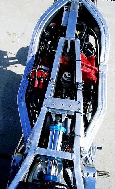 Une turbine dans une moto 8