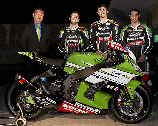 World Superbike Kawasaki-WSBK-2014