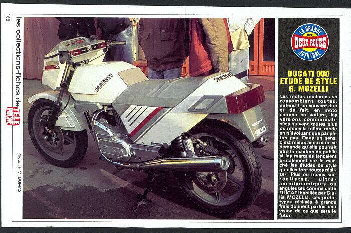Ducati periode cubiste DUCATI900ETUDE