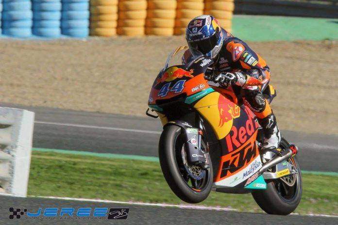 [Moto2] Miguel Oliveira fecha testes em Jerez na frente 17097881-1394930900578200-3282380139094256929-o-696x464