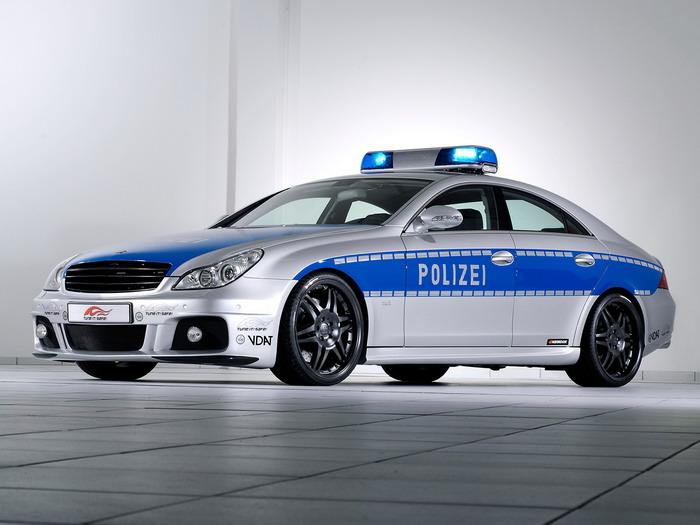 Policijski auti Brabus-rocket-police-car-based-on-mercedes-benz-cls-2006-2