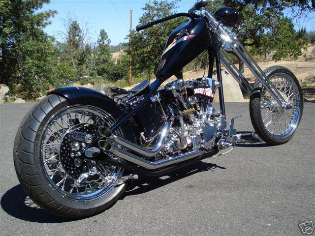 Custom bikes Knucklehead_custom_chopper