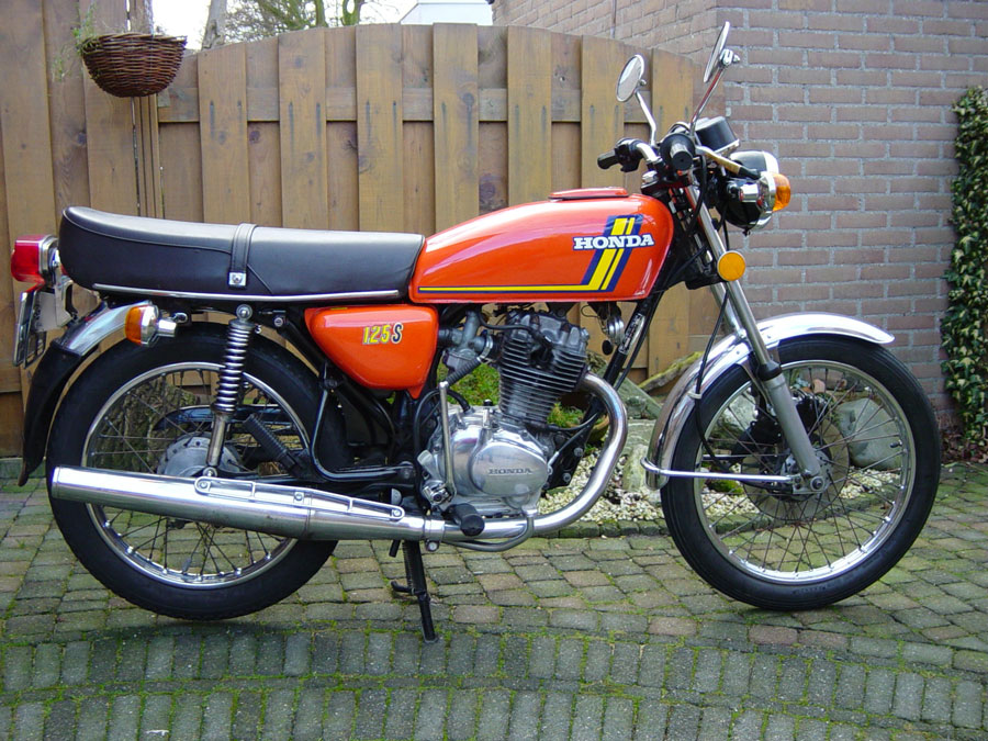 Honda CB 125 J - restauración Cb125s