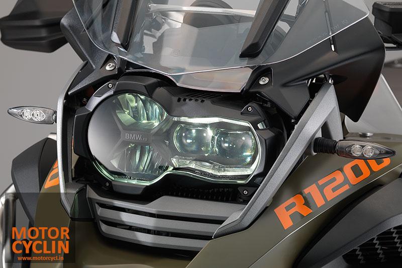 Νέες λάμπες Led Η3 για προβολακια 2014-BMW-R1200GS-headlamps