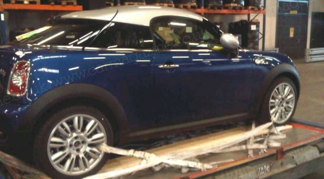 MINI Coupe Caught Un-Disguised 1MiniCoupeCooperSundisguised-640x354