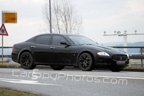 Nuova Maserati compatta di segmento E: il ritorno della Biturbo 30 anni dopo? - Pagina 6 Maserati-berlina-spy-2