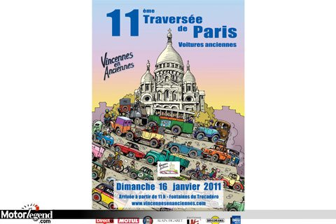 Affiche de la 11ieme traversée de paris - 2011 11eme-traversee-de-paris-4457-1