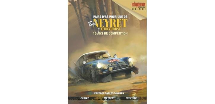 L'Automobile et la Bande Dessinée  - Page 4 Bd-bob-neyret-paire-d-as-pour-une-ds-hors-serie-echappement-classic