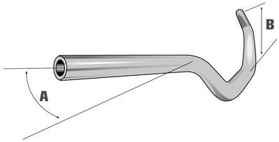 Guidon CB1000R (2013) Protaper_dessin