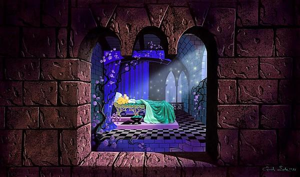 [Disneyland Park] Sleeping Beauty Castle Walkthrough (réouv 26 Nov 2008) Sbcwalkthrough01