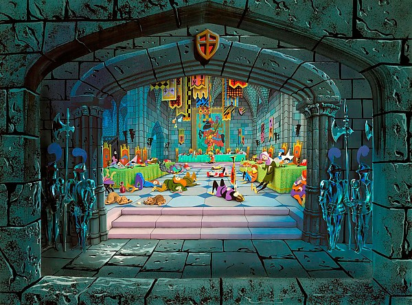 [Disneyland Park] Sleeping Beauty Castle Walkthrough (réouv 26 Nov 2008) Sbcwalkthrough02