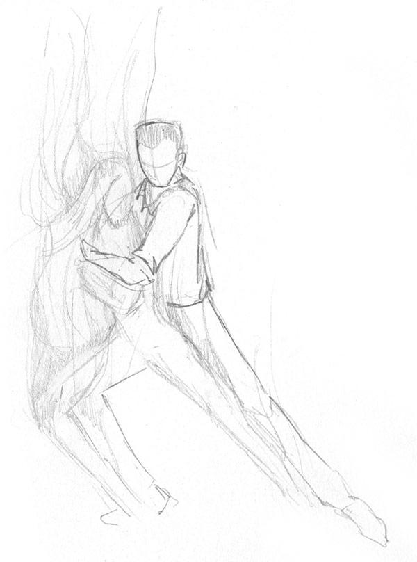 Recherche d'une figure de tango Tango2