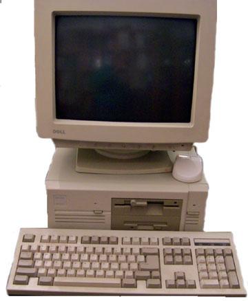 Votre premier jeu-vidéo ? Dell386sx