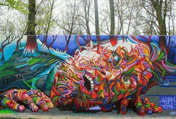 Grafiti - ulična umetnost - Page 3 Unique-Murals-Unusal-Street-Art_03-Shaka
