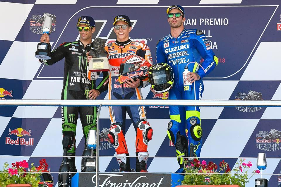 MOTO GP 2018 GRAND PRIX D'ESPAGNE 2018 - Page 2 Podium_jerez_2018