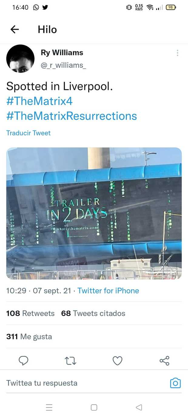 Matrix regresa ! Anunciada Matrix 4  - Página 4 El-jueves-trailer-de-matrix-resurrections-l_cover