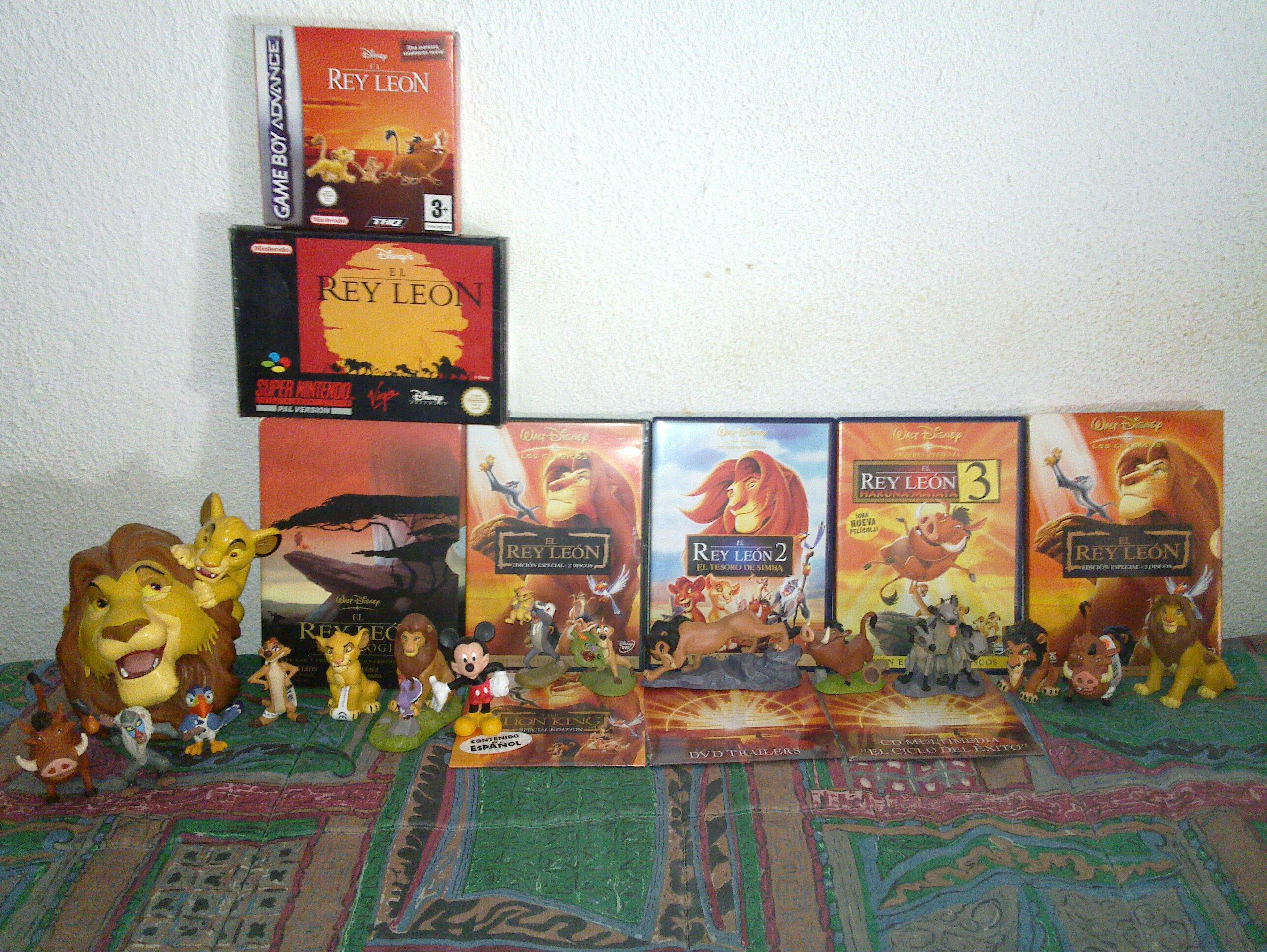 A que no sabias esto de el rey leon Pack-dvd-el-rey-leon-figuras-de-el-rey-leon-original