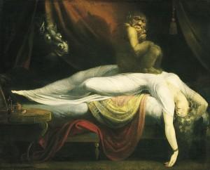 ¿Demonios reales en nuestras pesadillas? Fuseli-La-Pesadilla-e1347212053412-300x242