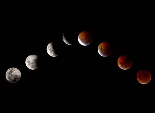"""¿El mundo llegará a su fin después de las """"cuatro lunas de sangre""""? Lunas-sangre"""
