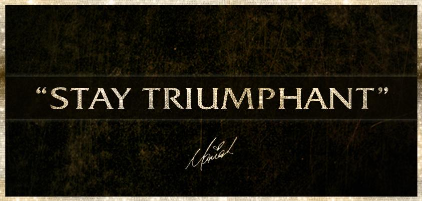 Single >> 'Triumphant (Get 'Em)' StayTriumphant-21072012